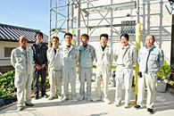 太陽光発電 設置のながれ:施工スタッフ